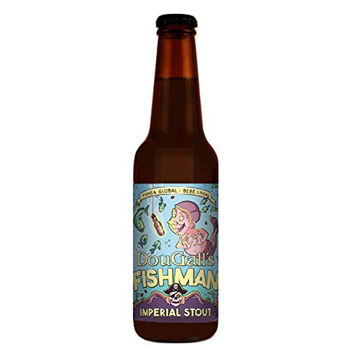 Dougall´s Fishman Imperial Stout Cerveza Beer 33 cl.