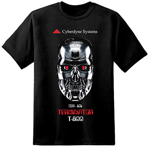 Cyberdyne Systems T-800 T-shirt for Adults, up to 5XL
