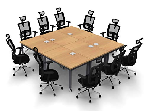TeamWork 6443 6pc Conference Table