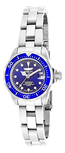 Invicta 17034 - Reloj para Mujeres, Correa de Acero Inoxidable Color Plateado