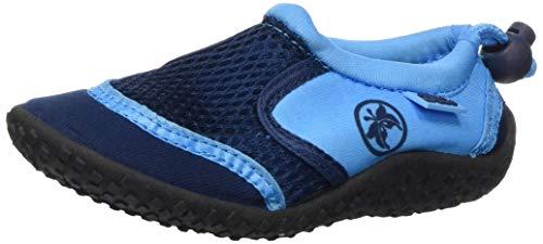 AQUA-SPEED 14 Aquaschuhe Wasserschuhe / Surfschuhe / Badeschuhe (navyblau/blau, 26)