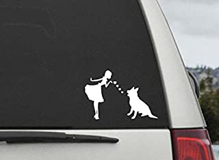 CCI Shepherds and Pearls Decal Vinyl Sticker Cars Trucks Vans Walls Laptop  White  5.5 x 3.75 in CCI606
