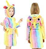 Pigiama per Accappatoio per Bambini, Regalo Giocattolo Unicorno per Bambina di 5-6 Anni, Giocattolo Regalo Natalizio per Bambina