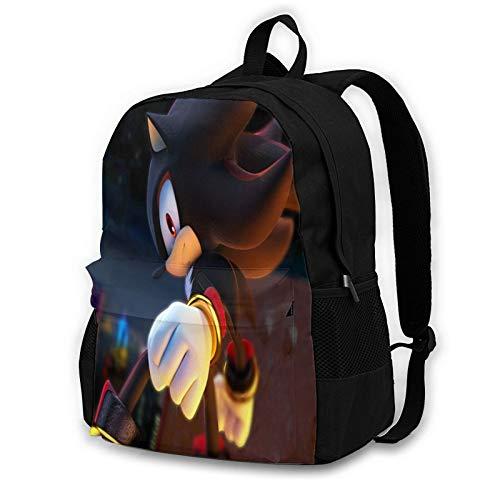 So-Ni-C The Hedgehog Fashion Backpack Multifunction Trekking Daypacks School Backpack Outdoor Sports Bookbag Unisex