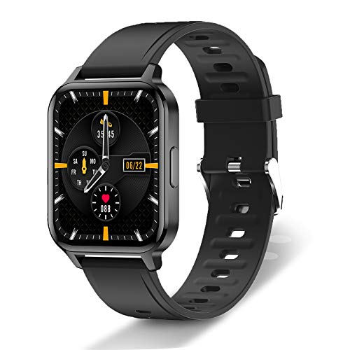 """Aee Newest Band 5 Health & Fitness Tracker Waterproof Exercise Band Activity Tracker, Full Clour AMOLED 1.1"""" Touch Screen, Sports Watch"""