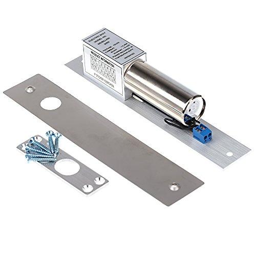 KKmoon Serratura Magnetica Serratura Elettrica Electric Door Lock DC 12V Induzione Elettromagnetica Catenaccio Automatico per la Sicurezza del Sistema di Controllo di Accesso