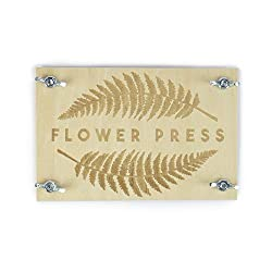 This DIY tin includes everything you need to get started creating your own flower press Get flower picking and create some beautiful art Show off your creations and decorate your home Set includes front and back board, 4 bolts and wing nuts and instr...