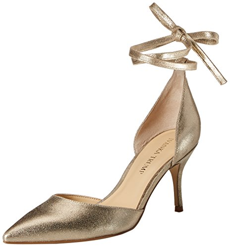 Ivanka Trump Women's Bernie Pump, Gold, 7.5 Medium US