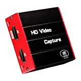 HDMI USB3.0 4K Video Capture Card, HD 1080P 60FPS Game Capture Device Cam Link with HDMI Zero Latency Passthrough Live Streaming Gaming Recorder for Nintendo Switch/3DS, PS4/PS5, Xbox One, Camera, PC…