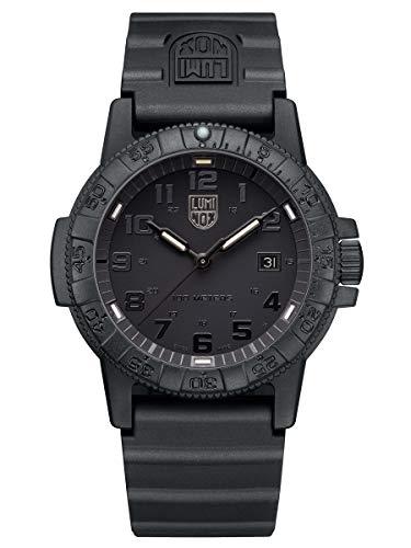 LUMINOX Watch Leather Back sea Turtle Giant 0320 Series 0321.BO Swiss Made