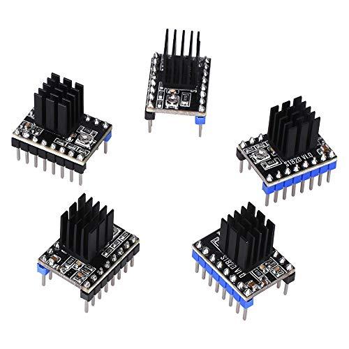 Naliovker 5PCS ST820 V1.0 Stepper Motor Driver Microstepping Suite MKS GEN V1.4/MKS GEN L/SKR V1.1/Ramps 1.4 for 3D Printer Parts