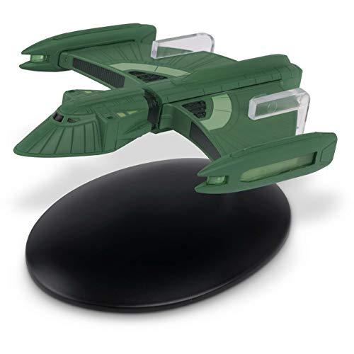 Eaglemoss Star Trek Coleção Oficial Starships, modelo fundido, Romulan Scout