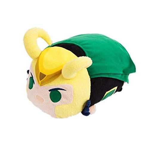 JMHomeDecor Plüschtier 52 cm Plüsch Film Avengers Loki Lie Cool Niedlich Realistisch Positive Energie Weiches Kissen Gute Qualität Halloween Kind
