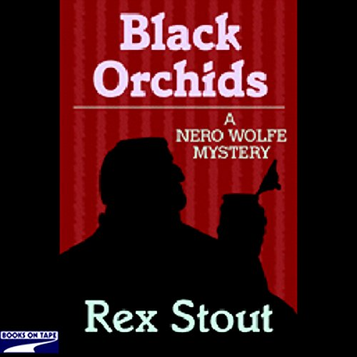 Black Orchids audiobook cover art