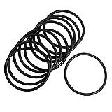 Ochoos 10 PCS Black Rubber Oil Seal O-Ring Seal Washers 54 x 3 x 48mm