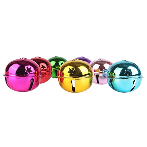 kowaku Artesanía Colgante de La Joyería de Las Campanas de Cascabeles de Colores de 40 Mm
