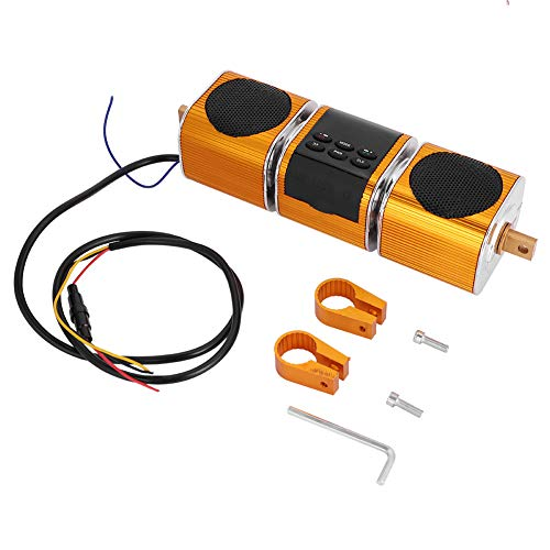KIMISS Wasserdicht Wireless BT Motorrad Stereo Lautsprecher Audio Verstärker Stereo Lautsprecher System Unterstützung MP3 USB/TF Karte