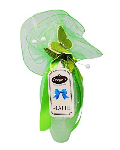 Uovo di Pasqua lavorazione Artigianale cioccolata al latte 54% con sorpresa 500 gr