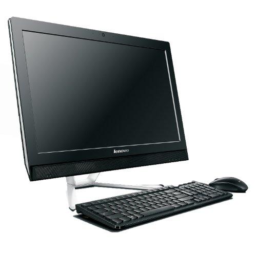 Lenovo C560 23-inch All-in-One Desktop (Black) - (Intel Core i7-4785T 2.50 GHz, 8 GB RAM, 1 TB+8 GB SSHD, NVIDIA GeForce 800M 2 GB, DVDRW, HDMI, Camera, TV Tuner, Wi-Fi , Windows 8.1)