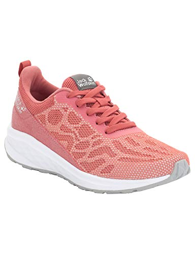 Jack Wolfskin Damen Coogee Chill Low Sneaker, Pink (Rose Quartz 2131), 39.5 EU