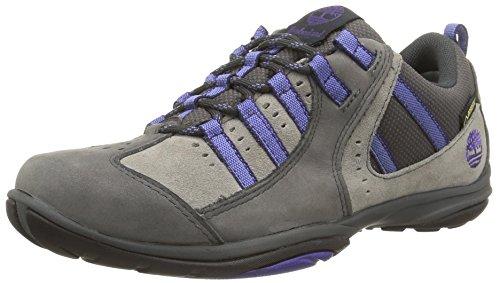 Timberland Corliss Low Goretex, Zapatos de Exterior Mujer, Gris, 41 EU