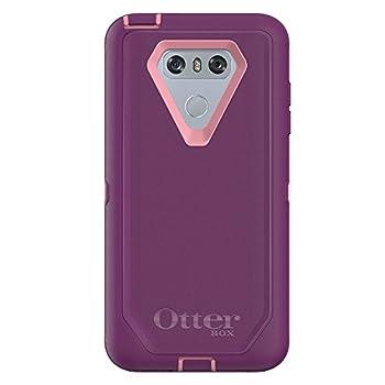 OtterBox Rugged Protection Defender Series Case for LG G6 - Bulk Packaging - Vinyasa  ROSEMARINE/Plum Haze