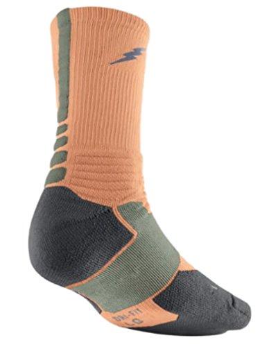 Nike KD Kevin Durant Hyper Elite Basketball Cushioned Crew Socks - Large...