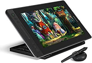 Huion KAMVAS Pro 13 GT-133 Graphics Drawing Monitor Pen Display with Stand Tilt Function Battery-Free Stylus 8192 Pen Pressure - 13.3 in, Compatible with Chromebook, Windows and Mac