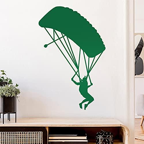 Graz Design - Adhesivo decorativo para pared, diseño de paracaídas