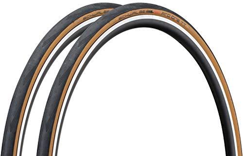 SCHWALBE PRO ONE TT シュワルベプロワン TT チューブレスイージー TLE 700c (700×25c, 2本セット) [並行輸入品]