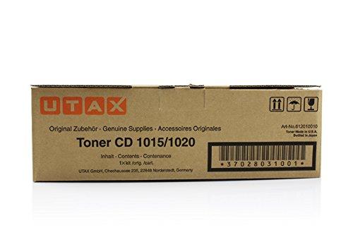 Original Utax 612010010 Toner (black, ca. 11.000 Seiten) für CD 1015, 1020