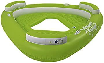 "Balance Living Honolulu 3-Person Deluxe Inflatable Pool Lounge (77"" Diameter, 14""H)"