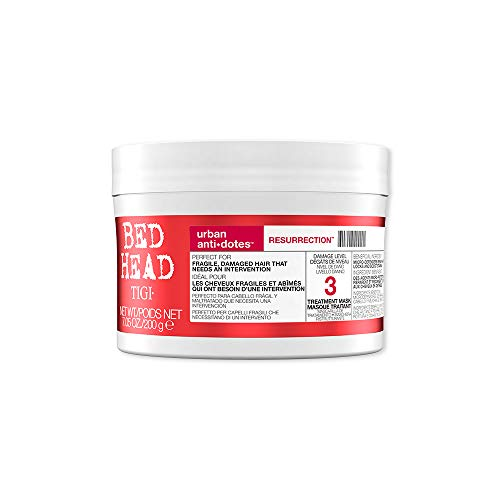 Máscara Para Tratamento Nível de Dano 3 Bed Head Tigi Urban Anti com Dotes Ressurrection Pote, TIGI, 200g
