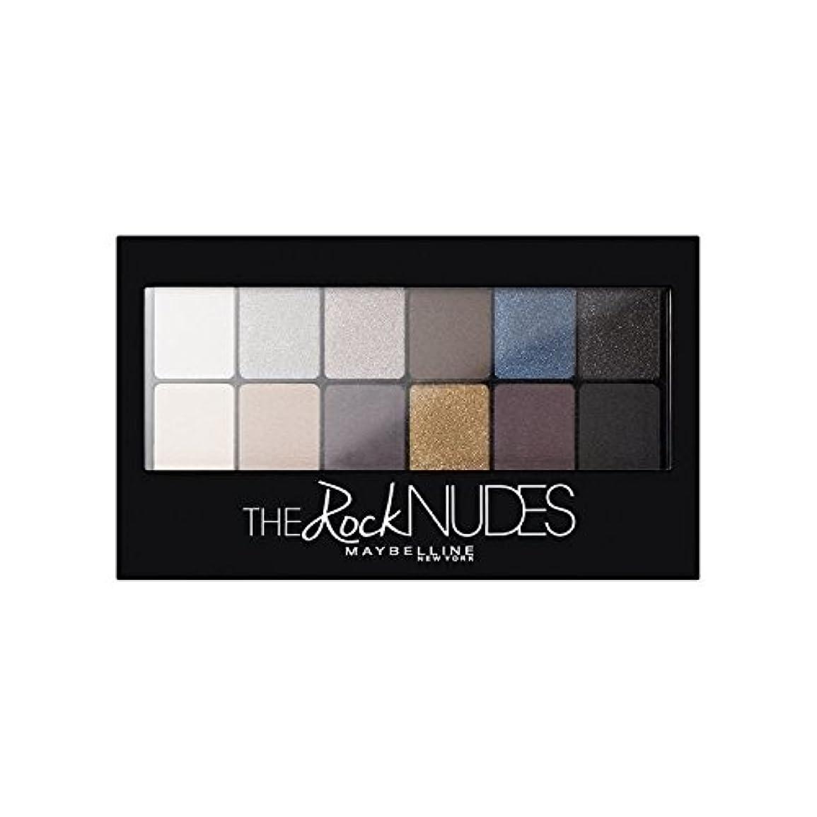 生命体急襲露骨なMaybelline Eyeshadow Palette Rock Nudes - メイベリンアイシャドウパレット岩ヌード [並行輸入品]