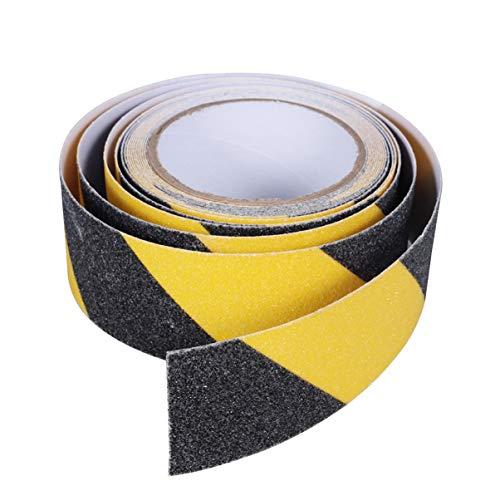 iplusmile Let Op Tape - Antislip Tape Mat Oppervlak Schurende Pvc Veiligheidstape Schuurband Antislip Tape Voor Vloer Ladder Trap Loopbrug (5Cm * 5M)