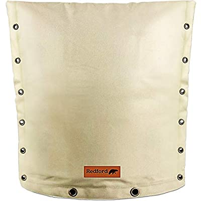 """Redford Supply Customizable Backflow Preventer Insulation Outdoor Pipe Cover for Winter Freeze Protection 