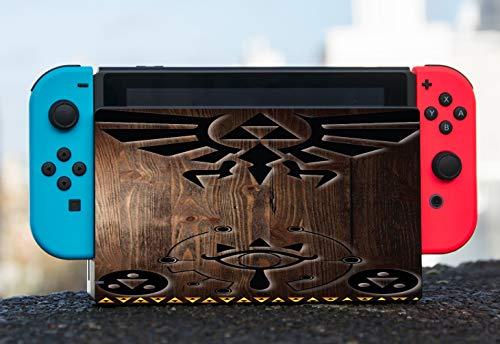 Zelda Triforce Vinyl Decal Sticker Skin by EandM for Nintendo Switch Dock