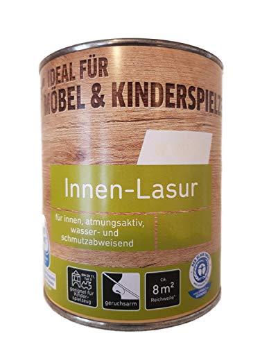 Ostendorf Innen-Lasur Acrylatdispersion Innen 0,75 Liter Farbwahl, Farbe:Nussbaum