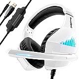 Cuffie Gaming per PS4 PS5 Xbox One, Cuffie da Gaming con microfono e Bass...