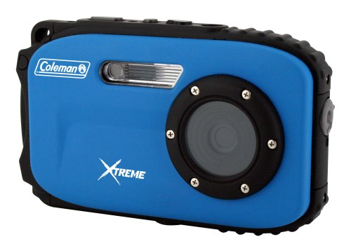 Coleman 12.0 MP Waterproof Digital Still and Video Camera with CMOS Sensor and 1x Optical Zoom (Blue)