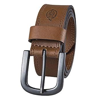 Dickies Men s Casual Leather Belt Tan 38