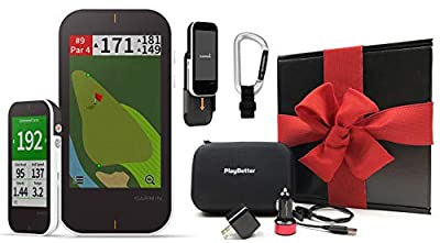 Garmin Approach G80 Premium Golf GPS with Launch Monitor Radar | Bundle | 2019 Release | 41,000+ Courses, Full Color CourseView, PinPointer & PlaysLike Distance