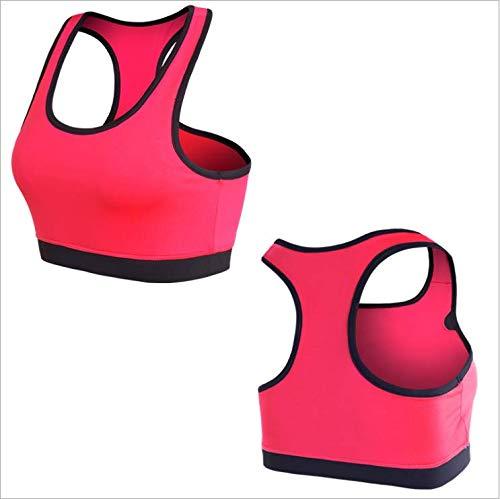 YXYBABA vrouwen sport bh vrouwen professionele fitness naadloos ondergoed zonder velgen slaap schokbestendig yoga vest