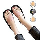 LOVEXIN Mujeres Comfy Sandals Corrector Punta Abierta Zapatos de Plataforma Corrección Slip-on Suela Plana Sandalia Comfy Deslizante Ortopédica Zapatos Deformidad Toe Enderezar Zapatos,Rosado,38