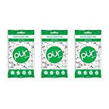 PUR 100% Xylitol Chewing Gum, Sugarless Spearmint, Aspartame Free & Sugar free, Vegan - Freshens Breath, Teeth Whitening & Relieves Dry Mouth - Pure Natural Flavored Candy, 55 Count (Pack of 3) by PUR Gum