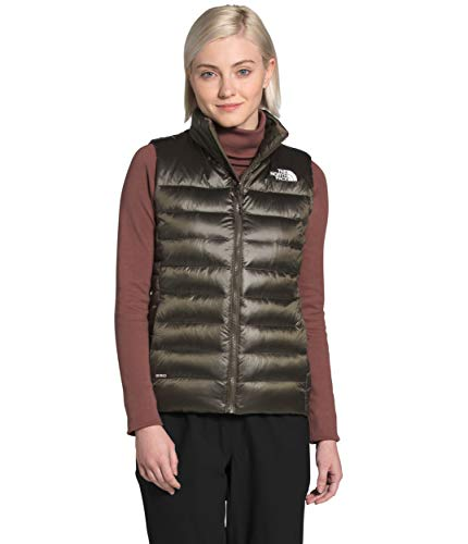 The North Face Women's Aconcagua Vest, New Taupe Green, L