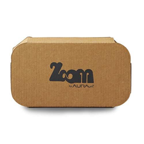 AuraVR Zoom Virtual Reality Headset Box Do-It-Yourself (DIY) Kits (5 Units) with Optical Grade Bigger 42 MM Lenses | Partly Assembled VR Kit Inspired from Google Cardboard for Mobile Phone