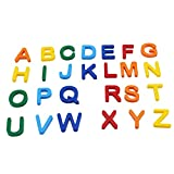 Letras Magnéticas Mayúsculas 26 Piezas Multicolor Alfabeto...