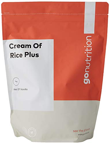 GoNutrition Cream of Rice + Tasty Advanced Carbohydrate Powder Breakfast Supplement (Vanilla, 1kg)