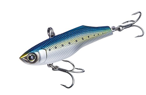 R1303-CIW High Speed Vibe, Color, Chrome Sardine, 130mm 5-1/4""